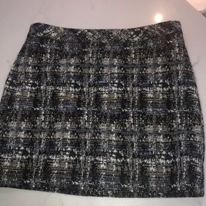 j Crew tweed skirt